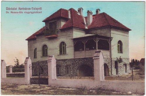 Kertváros -Telep képeslap