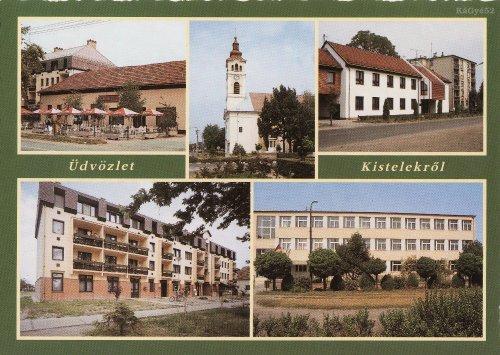 Kistelek képeslap