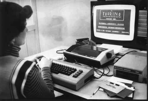 Könyvelés Commodore 64-gyel