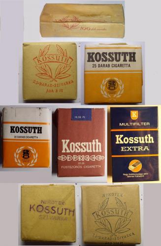 Kossuth cigaretták