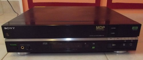 Sony MDP-212 képlemez játszó (LD)