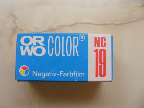 Orwo színes negatív