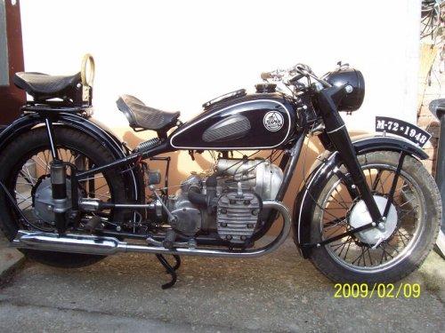 URAL M72 motorkerékpár