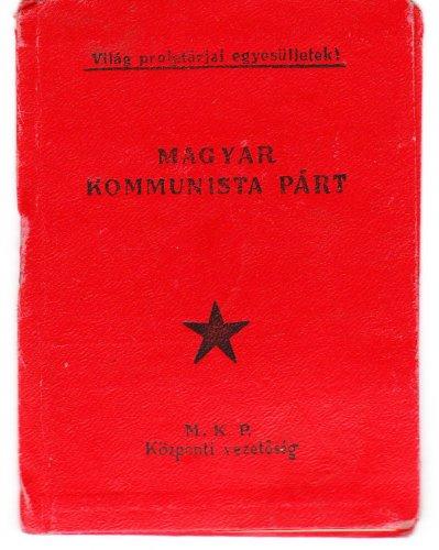MKP tagsági könyv