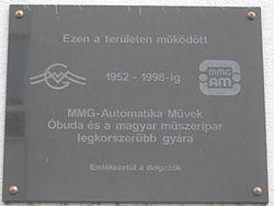 MMG Automatika Művek