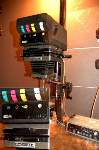 Magnifax Colorfejes (szines) nagyítógép