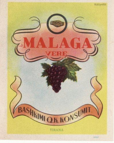 Albán malaga bor