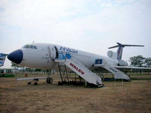 Malév Tu-154 repülőgép
