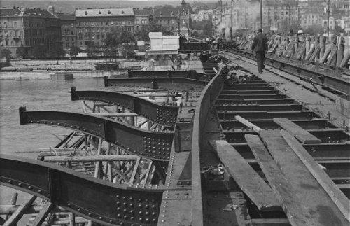 Margit híd  építése