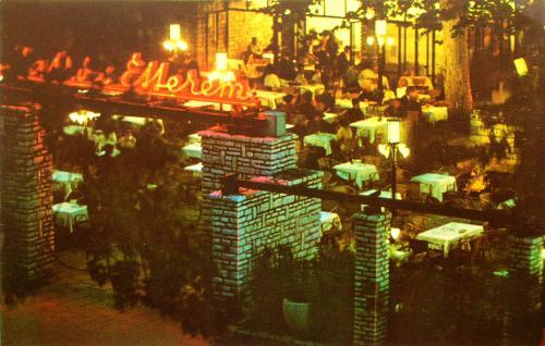 Siófok Matróz étterem neon
