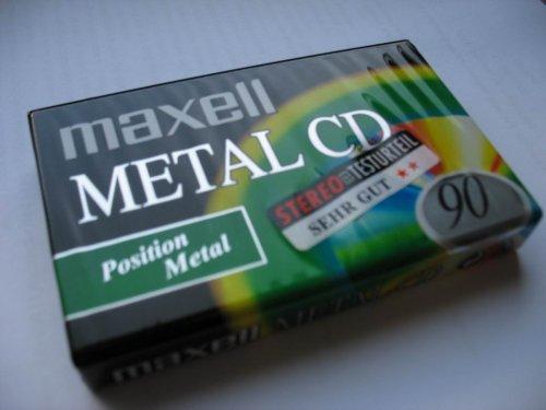 Maxell Metal CD 90 kazetta