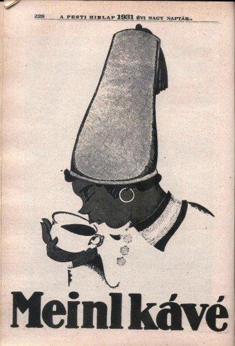 Meinl kávé reklám