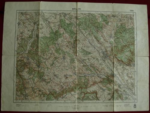 Mor Zirc térkép