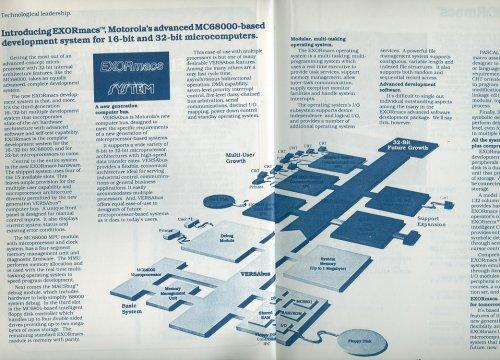 Motorola 1981- es mikroprocesszor rendszere