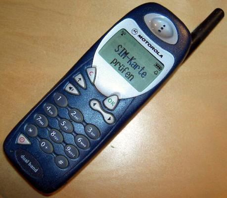 Motorola mobiltelefon - M3888