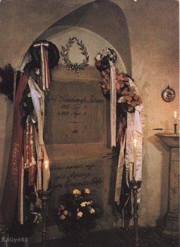 Gróf Széchenyi István sírja