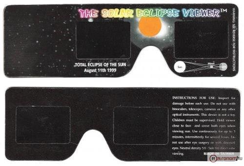 Napfogyatkozás-néző szemüveg