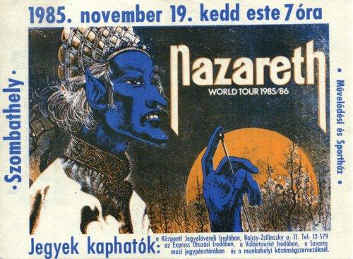 Nazareth miniplakát