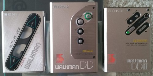 Sony walkmanok