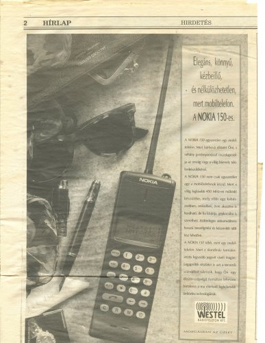 Nokia 150 reklám