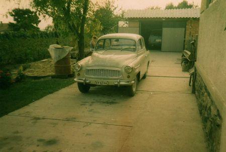 Skoda Octavia Super 1961-es