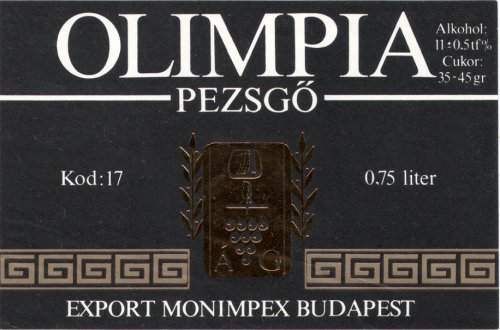 Olimpia pezsgő