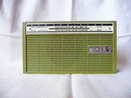 Eltra Minor rádió - MOT-631