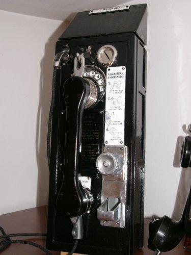 MATART MK55 telefon nyilvános utcai távbeszélő készülék
