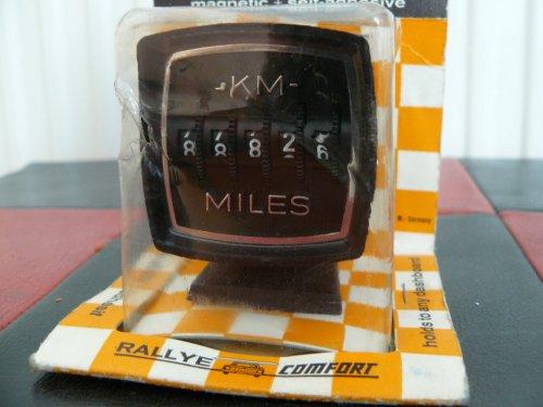 Rallye kilóméterszámláló műszer