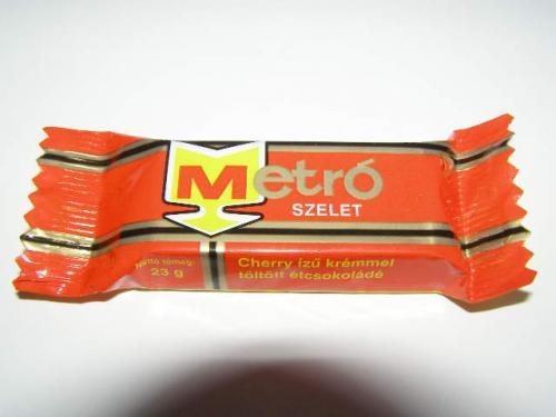 Metró csokoládé szelet