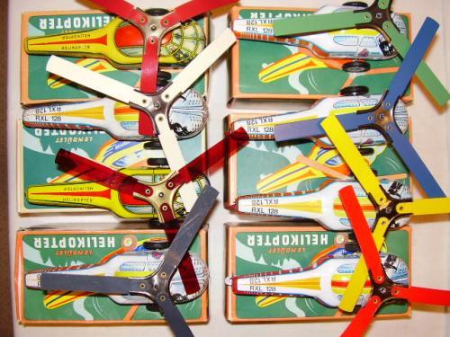 Lemezárugyári Lendület helikopter