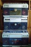 SHARP VZ-2000 és VZ-2500 rádiósmagnó