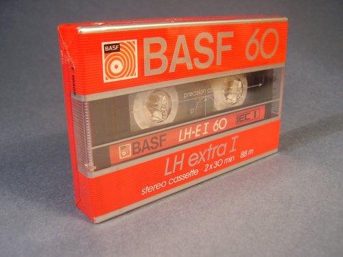 BASF LH extra-I 60 kazetta