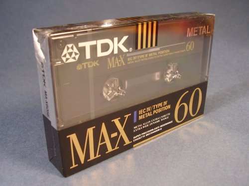TDK MA-X 60 perces kazetta