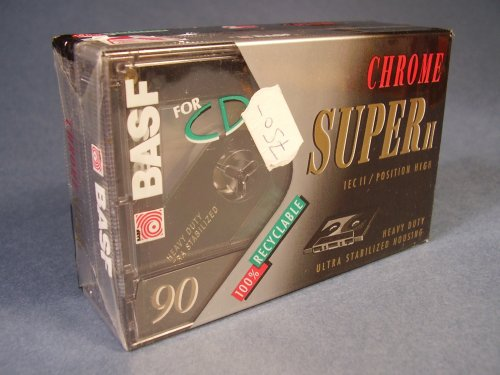 BASF Chrome Super II 90 kazetta