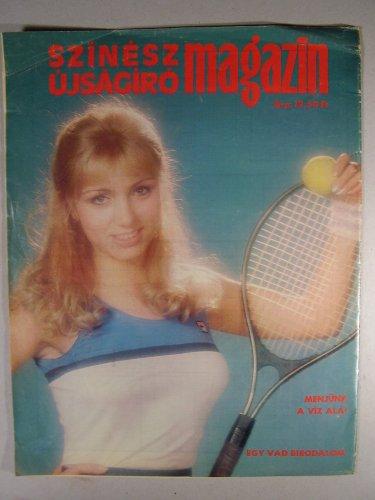 SZÚR Magazin 1985 hátoldala