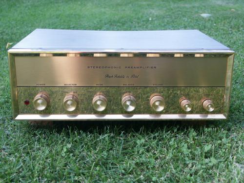 High Fidelity by Pilot - SP-210 - Stereophonic Preamplifier