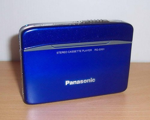 Panasonic walkman RQ-SX91