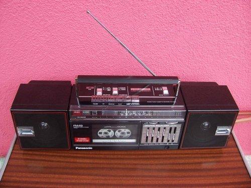 Panasonic RX-FM49L rádiómagnó