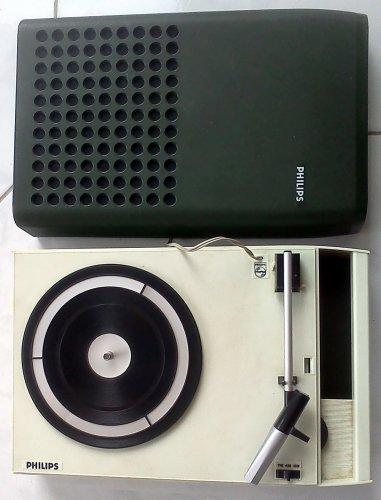 Philips hordozható lemezjátszó