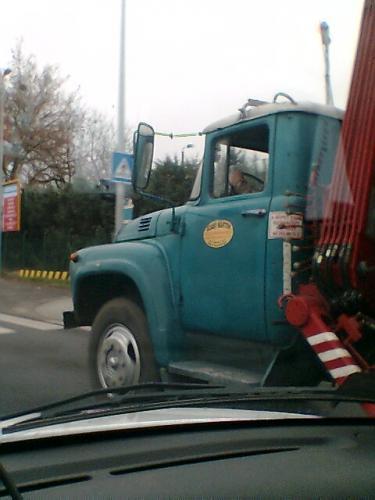 ZIL teherautó KCR kivitel