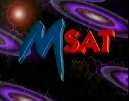 M-Sat televízió embléma