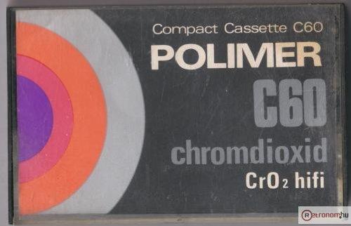 Polimer kazetta CrO2