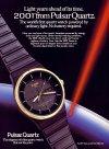 Pulsar 2001 napelemes quartzóra
