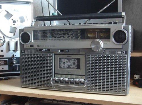 JVC RC-828W sztereó rádiósmagnó