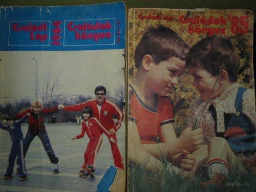 Családi lap évkönyvek