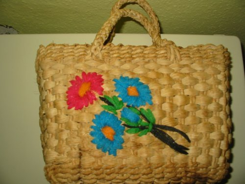 Gyerek gyékény táska