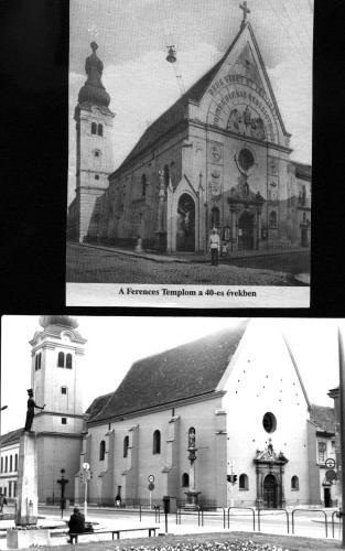 Szombathely Ferences templom