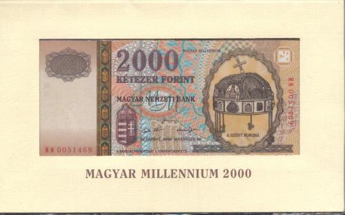 Kétezer forint Milleneumi