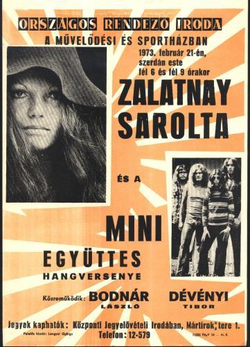 Zalatnay Sarolta Mini együttes